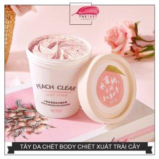 Kem tẩy tế bào chết toàn thân chiết xuất hoa quả trái đào Peach Clear Body Scrub giúp tái tạo tế bào da mới làm sáng da, cải thiện da sần sùi, mụn lưng mụn viêm, viêm nang lông, làm mềm và sáng da - The 1997 thumbnail