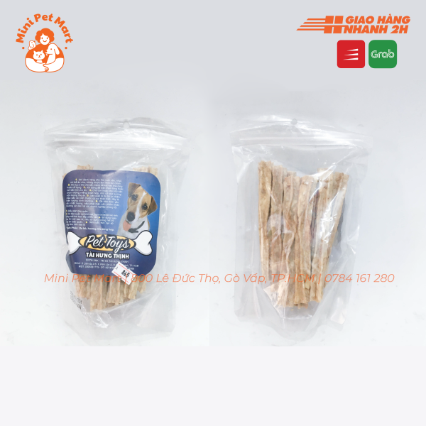 Bánh xương snack, bánh thưởng cho chó TÀI HƯNG THỊNH 865