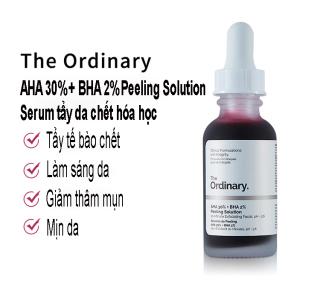 Serum Tẩy Da Chết The Oridnary AHA 30% + BHA 2% Peeling Solution Tinh Chất Tẩy Tế Bào Chết Peeling Da thumbnail