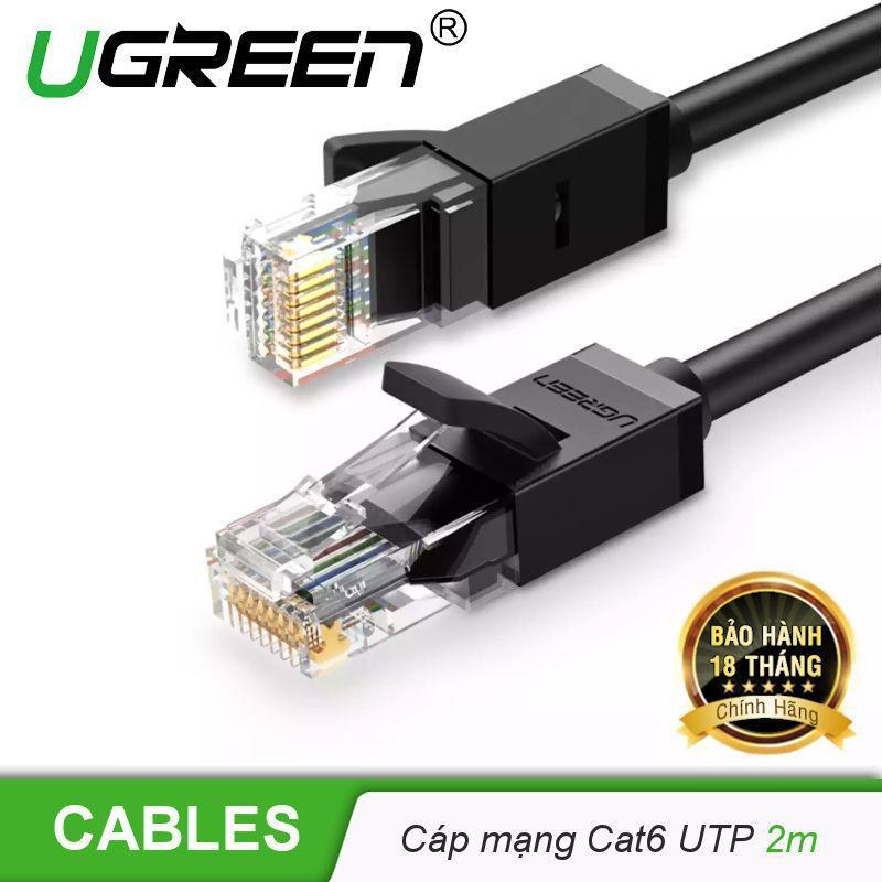 Bảng giá Cáp mạng Cat6  UTP UGREEN NW102 - Hãng phân phối chính thức Phong Vũ