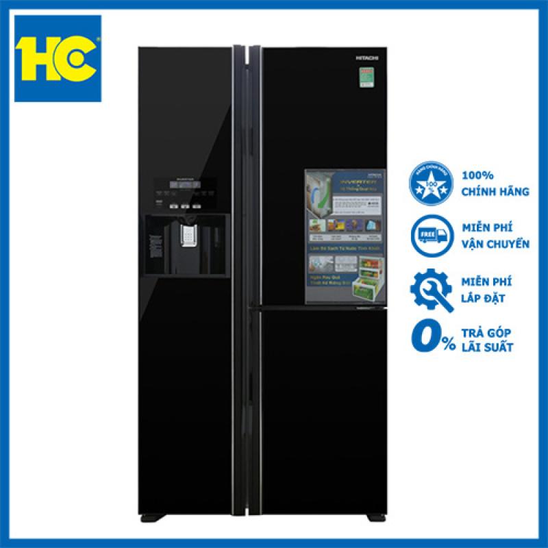 Tủ lạnh Hitachi R-FM800GPGV2(GBK) - Miễn phí vận chuyển & lắp đặt - Bảo hành chính hãng