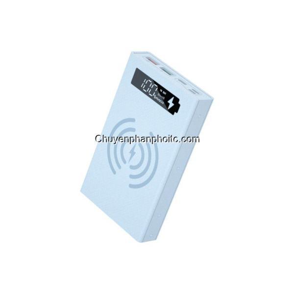 Box sạc dự phòng 5 cell CX5-PD-QC-QI Qc Pd 22.5w, không dây 10w