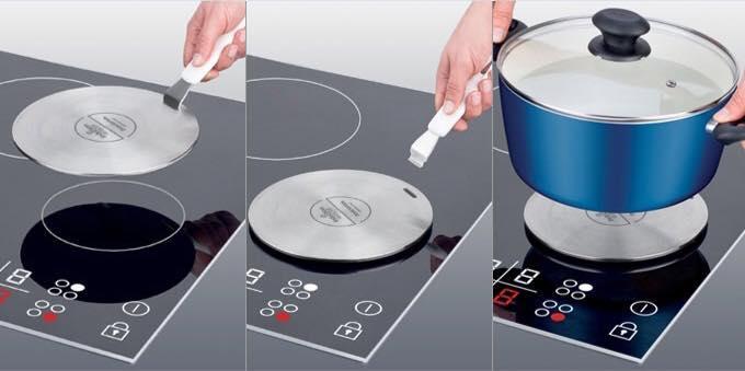 Đĩa chuyển nhiệt bếp từ số 1 Tescoma đường kính 21cm
