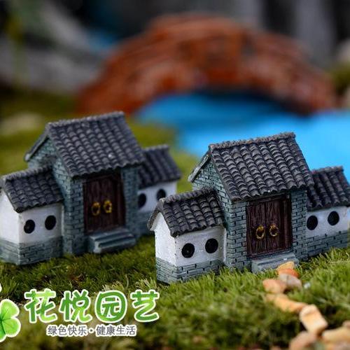 Phụ Kiện Tiểu Cảnh - Nhà Cổng Trang Trí Chậu Cảnh, Sen đá, Xương Rồng Giá Ưu Đãi Không Thể Bỏ Lỡ