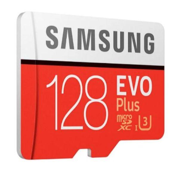 [HCM][Xả H&agraveng Kho]  Thẻ nhớ MicroSDXC Samsung Evo Plus 128GB U3 4K R100MB/s W90MB/s - Box Anh ( Đỏ )