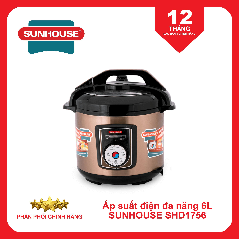 Nồi áp suất điện đa năng SUNHOUSE SHD1756