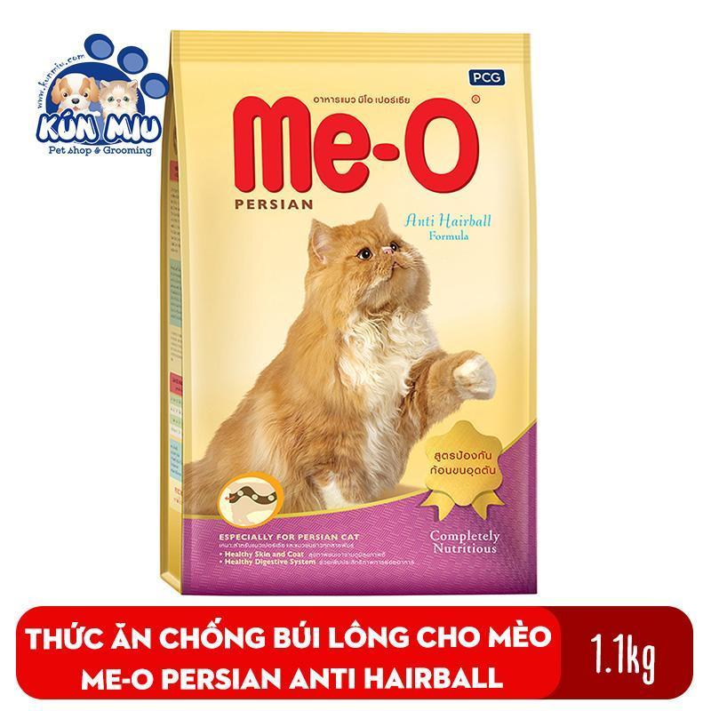 Thức ăn chống búi lông cho mèo Me-O Persian Anti Hairball 1.1kg