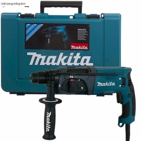 Máy khoan bê tông Makita HR2470F-đủ 3 chức năng khoan sắt, gỗ, khoan bê tông và đục bê tông -