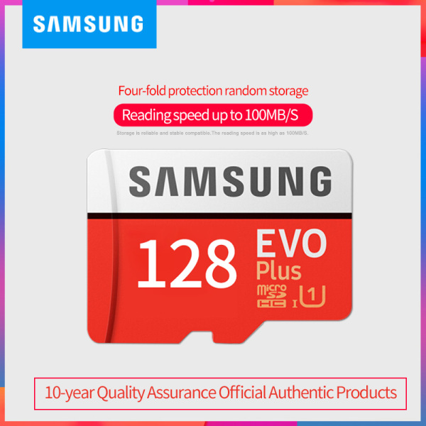 Thẻ nhớ micro SD samsung Evo plus 128GB 64GB 95MB/s 4k video (new version)
