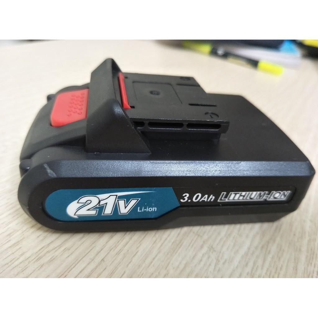 Pin Máy Makita Dùng cho máy 18V 21V 24V 26V. Pin Chuẩn 5 cell Bảo hành 6 tháng
