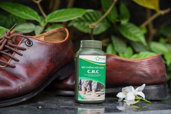 Bột khử mùi hôi giày - Dành cho người thường xuyên mang giày