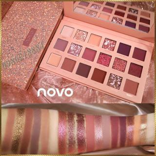 Bảng phấn mắt Novo Cinderella 18 màu CNV15 thumbnail