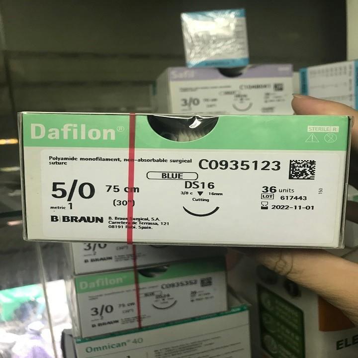 Chỉ khâu vết thương DAFILON kích cỡ các loại [Y TẾ ĐỨC ANH] nhập khẩu