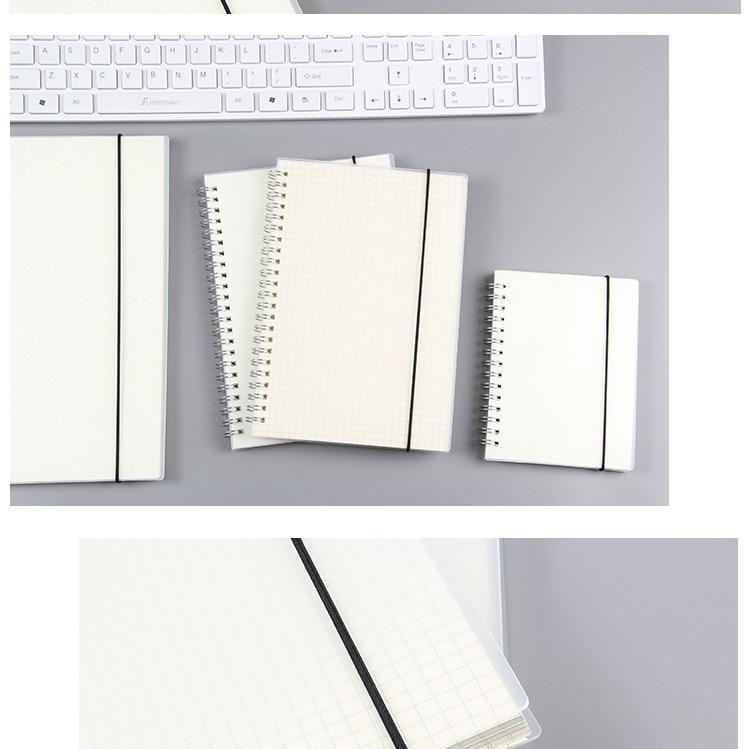 Mua Sổ Lò Xo Bìa Trong Suốt B5, A6