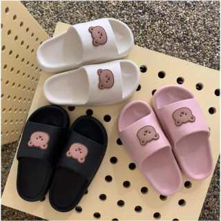 Dép Bánh Mì Đúc Bear 3 Màu - Shop Miho Shoes