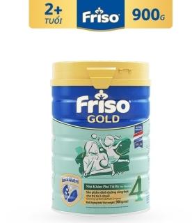 (Date 05,06 2022) Sữa bột Friso Gold 4 900g thumbnail
