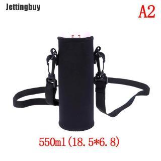 Jettingbuy 420Ml-1500Ml Chai Nước Mang Theo Cách Nhiệt Túi Giữ Dây Đeo Du Lịch thumbnail