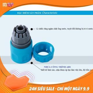 Khớp nối nhanh dây ống nước dùng cho ống có đường kính ngoài từ 16mm đến 18mm thumbnail