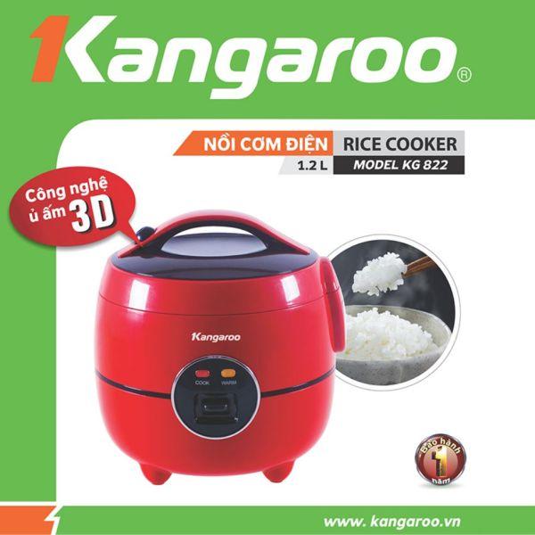 Bảng giá Nồi cơm điện Kangaroo 1,2lit , KG822 Điện máy Pico