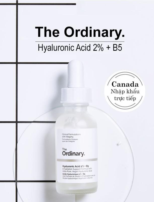 The Ordinary Hyaluronic Acid 2% + B5 Serum dưỡng ẩm chuyên sâu giúp da căng mọng Moisturizing Skin Care Firming Serum 30ml giá rẻ