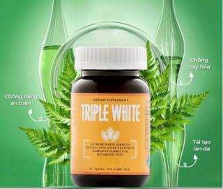 Viên Uống Triple White Viên Uống Glutathione 1200mg thumbnail