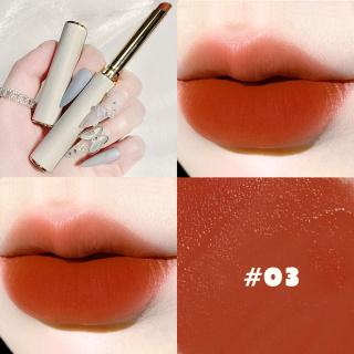 SANIYE Saturated Rouge Intense Velvet Slim Lipstick Velvet Môi Lì Bộ Sưu Tập Trang Điểm 7 Màu K2021 thumbnail