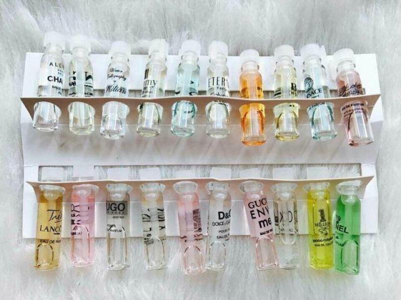 Set 20 lọ nước hoa mini