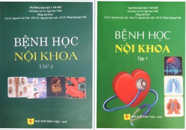 Mua Bệnh học Nội khoa 2018 (Tập 1 + Tập 2)