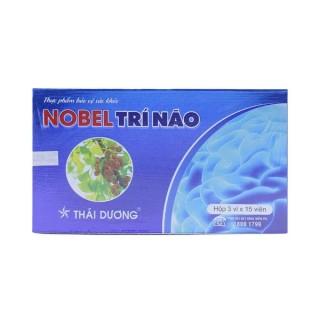 Nobel Trí Não Thái Dương giảm hình thành cục máu đông, tăng tuần hoàn não, hỗ trợ cải thiện di chứng sau tai biến mạch máu não, đột quỵ ( hộp 45 viên) thumbnail