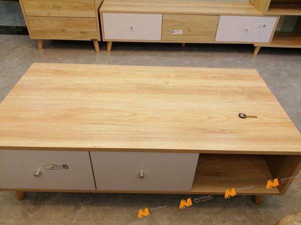 Giá bán Tủ gỗ An Nhiên hiện đại góc cạnh sắc nét phù hợp căn hộ xứng đáng đồng tiền bỏ ra Gỗ MDF loại cao cấp độ dày 17mm chất lượng gỗ vượt trội Mẫu mới hiện đại G96