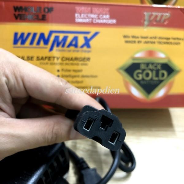 Mua Sạc xe đạp điện NIJIA 48v 12ah chân đặc, sạc chính hãng, WINMAX