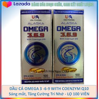 [Hàng chính hãng] Viên uống Dâ u Ca Alaska Omega 3 6 9 MÀU BẠC - Tăng Cường Thị Lực, Giảm Nguy Cơ Mắc Bệnh Tim Mạch -hộp 100 viên thumbnail
