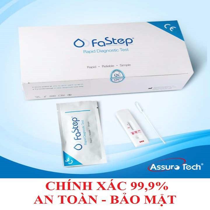 Que thử HIV tại nhà Fastep lấy máu đầu ngón tay có kết quả sau 10 phút, chính xác, dễ thực hiện nhập khẩu