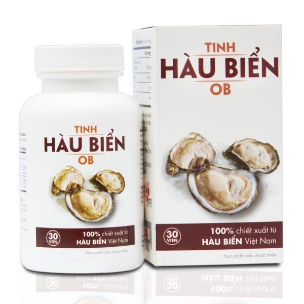 Tinh Hàu Biển OB - Hỗ trợ giúp tăng Testosterone nội sinh một cách tự nhiên