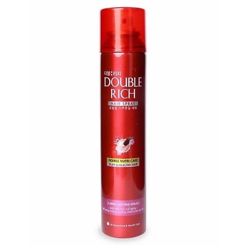 Keo giữ nếp tóc Double Rich Hair Spray 170ml giá rẻ