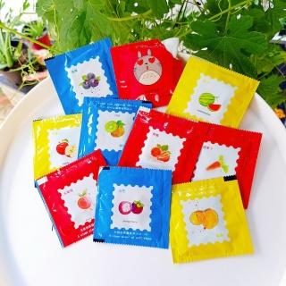 Khăn ướt gói vuông không mùi hoạ tiết trái cây, gói khăn ướt vuông mini, khăn giấy ướt vuông kiểu bcs (KTC01), Huy Tuấn thumbnail