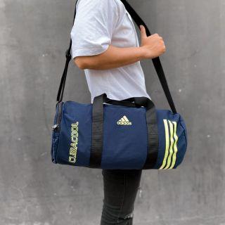 Túi trống thể thao Adidas Gym gấp gọn vải polyester chống nước tiện dụng thumbnail