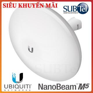 Thiết bi Wifi chuyên dụng Ubiquity NanoBeam M5 - Anten phủ sóng tầm cực xa trên 2 băng tầng- SUBtel thumbnail