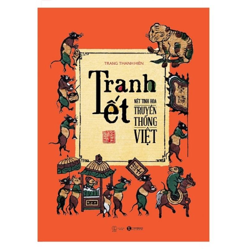Mua Sách - Tranh tết nét tinh hoa truyền thống Việt - Tranh Đông Hồ, Chuột múa rồng