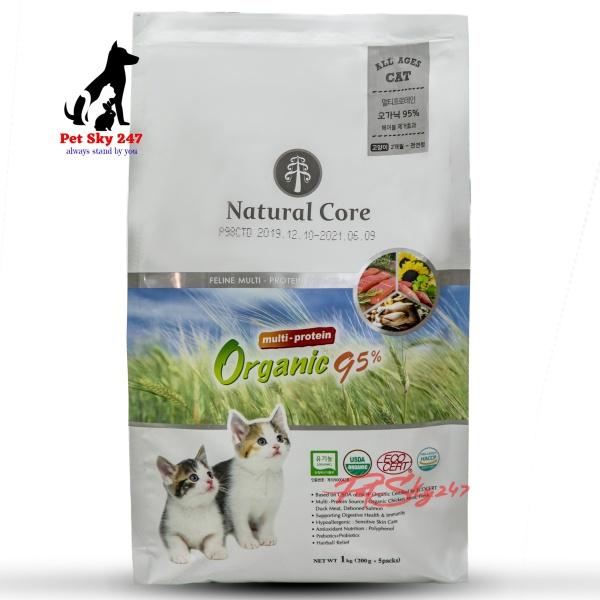 Thức Ăn Hữu Cơ Natural Core Giàu Đạm Cho Mèo Gói 1Kg - Hàn Quốc