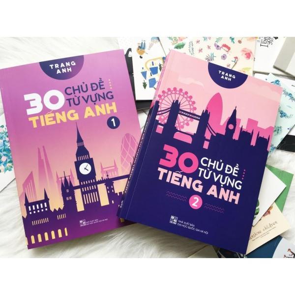 Mua Sách - Combo 2 tập 30 Chủ Đề Từ Vựng Tiếng Anh - Cô Trang Anh