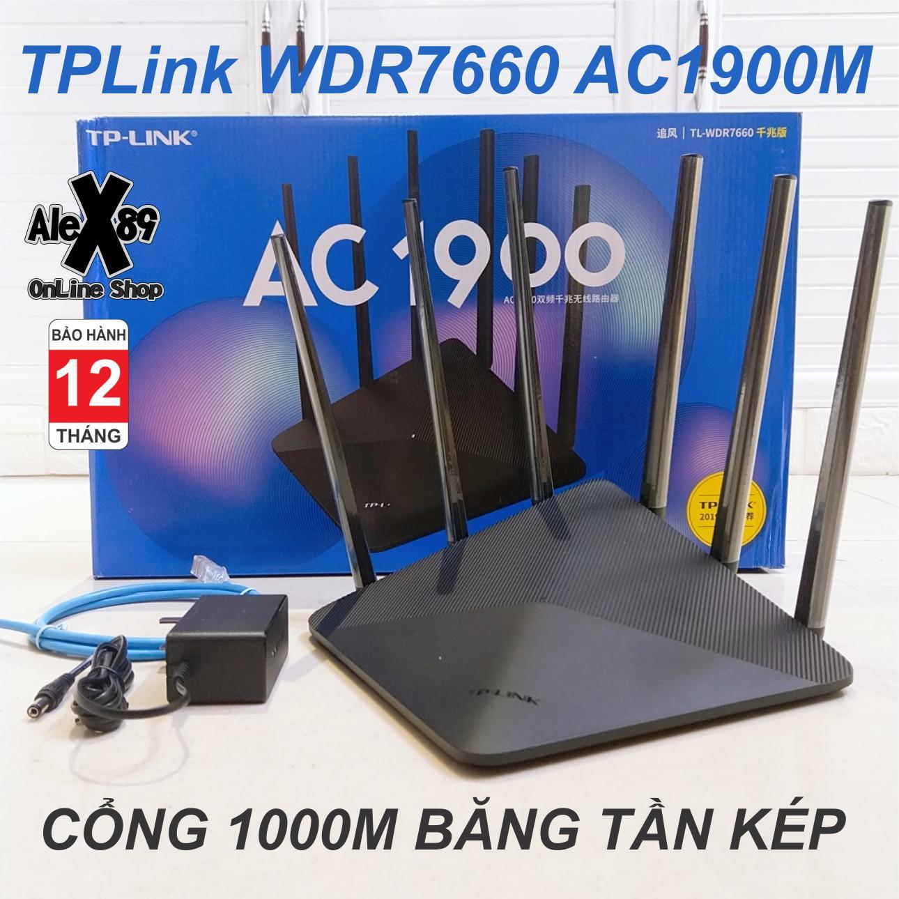 Giá TP-Link WDR7660 Thiết Bị Phát Wifi 1900Mbs 2019 - Bảo Hành 12 Tháng