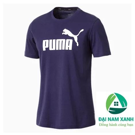 Áo Thun Nam Puma Essentials Tee (màu Peacoat) - Hàng Chuẩn Châu Âu Giá Tiết Kiệm Nhất Thị Trường