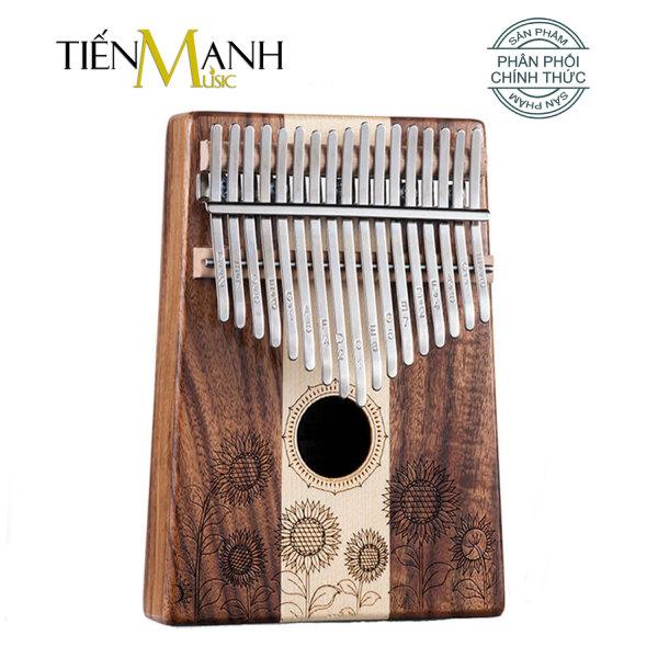 Đàn Kalimba 17 Phím Hluru KT (Gỗ Koa, Maple) - Nhạc Cụ Tiến Mạnh Music