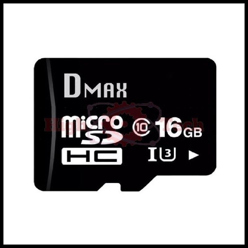 Thẻ nhớ 16Gb tốc độ cao U3, up to 90MB-s Dmax Micro SDHC - Bảo hành 5 năm đổi mới