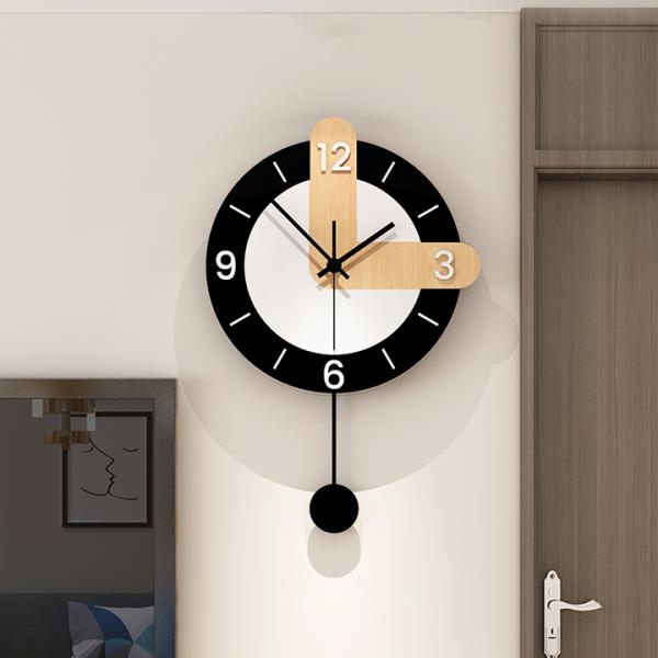 Đồng hồ treo tường cao cấp, đồng hồ phong cách Bắc Âu cá tính bán chạy