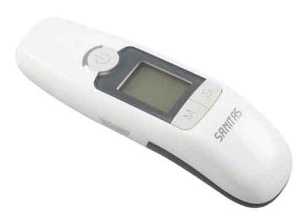 Máy đo thân nhiệt Sanitas 77 của Đức bán chạy