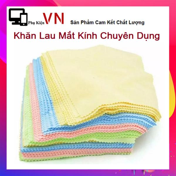 Giá bán ⚡ Set 10 Khăn Lau Mắt kính Siêu Sạch -  Combo 10 khăn lau kính chuyên dụng  ⚡