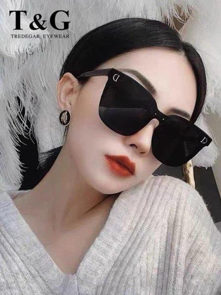 Giá bán Kính dâm vuông chữ D - Bobu clothes - kính dân thời trang Hàn quốc - chất nhựa cao cấp - cam kết hàng y hình