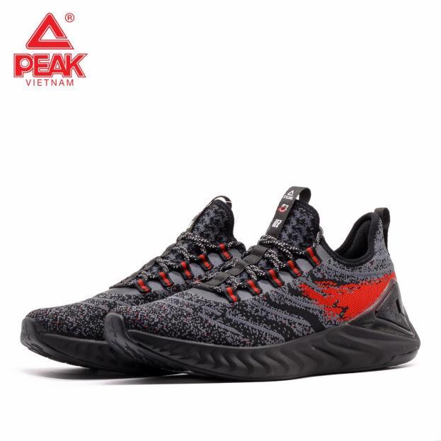 Giày chạy bộ nam PEAK Running Taichi E91617H giá rẻ